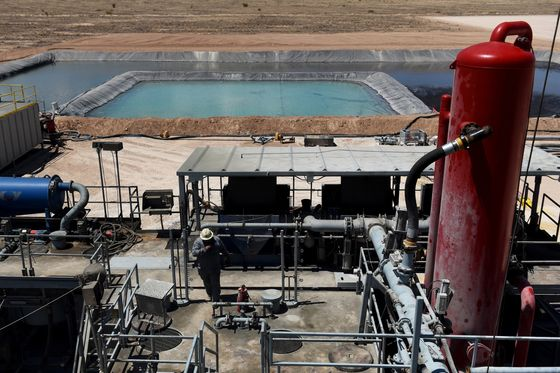 Private Equity Rushes In to End Shale Drillers' Water Torture