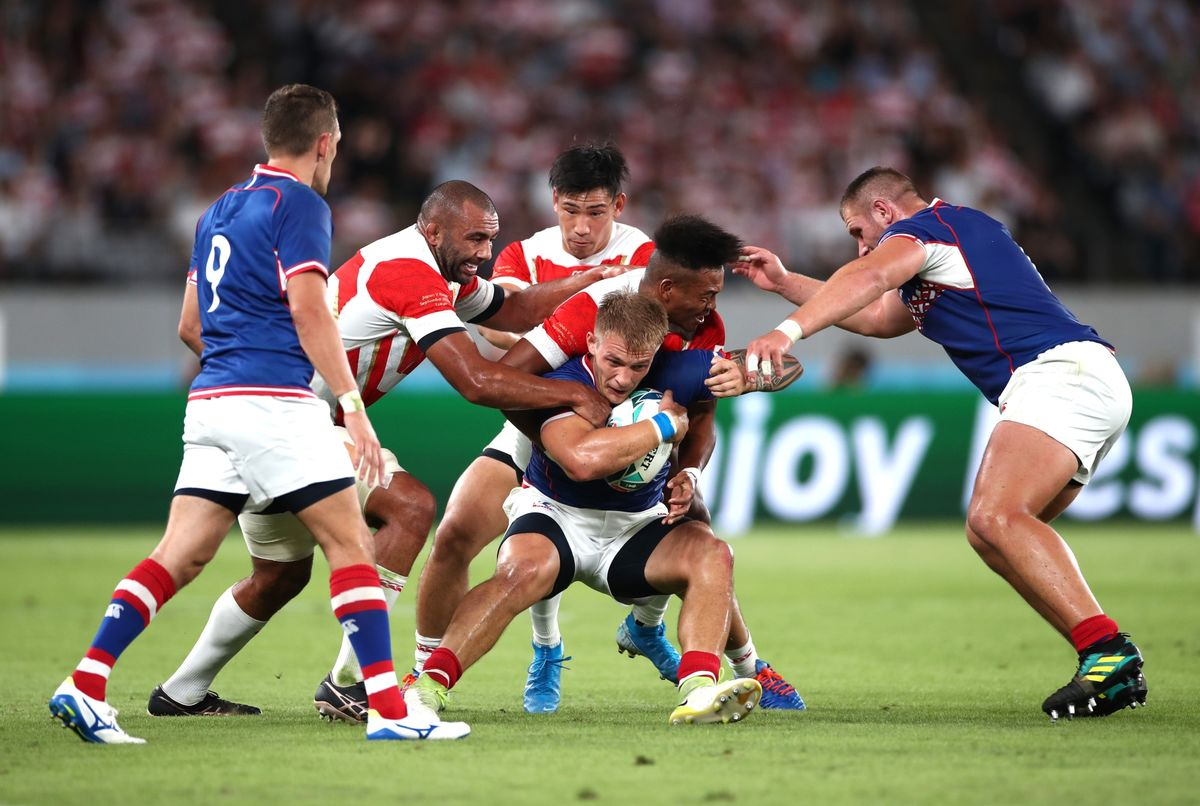 Georgia, Japan Favored to Cause Upsets at Rugby World Cup