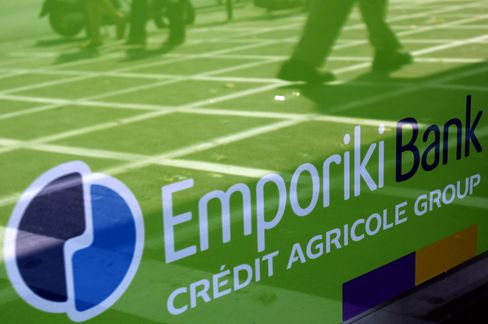 Credit Agricole Seeks End to Greek Imbroglio as Euro Exit Looms
