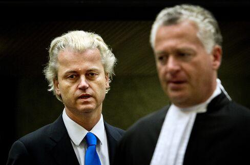 Dutch Freedom Party Leader Geert Wilders