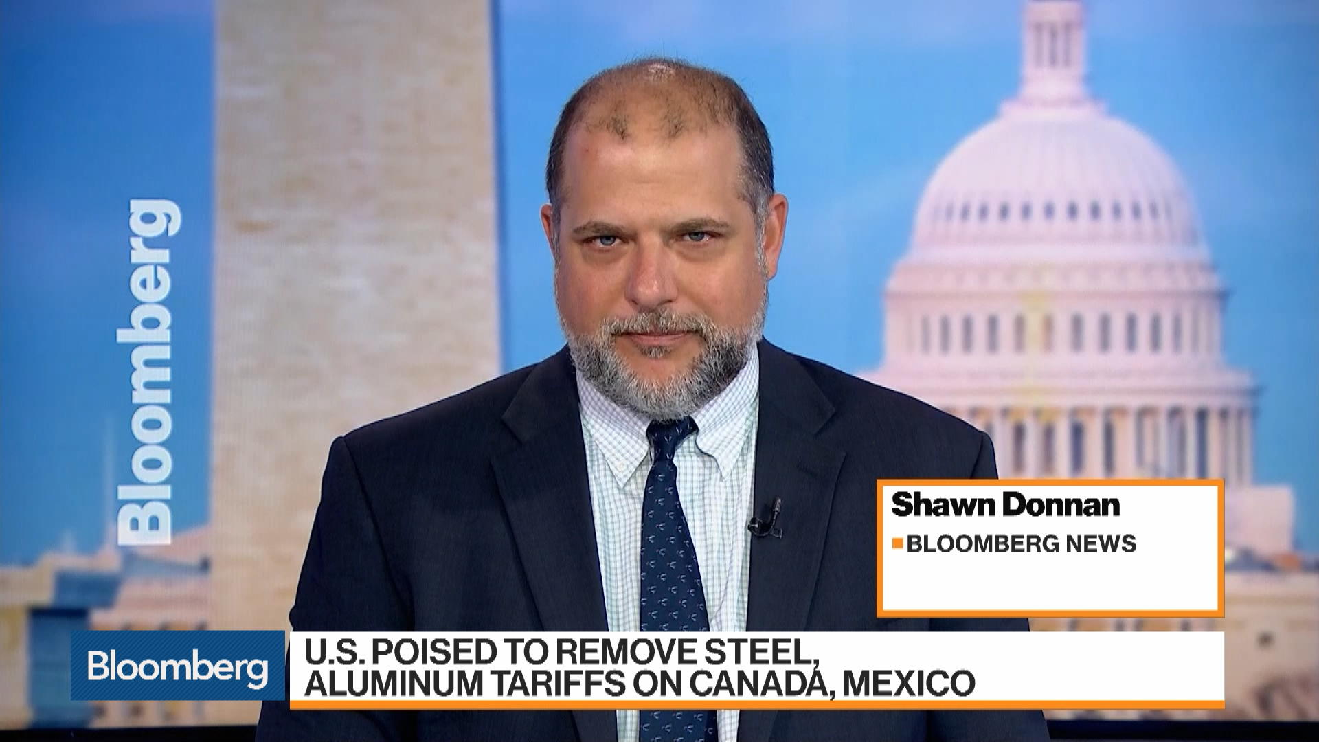 U.S. Set to Lift Steel and Aluminum Tariffs on Canada and Mexico