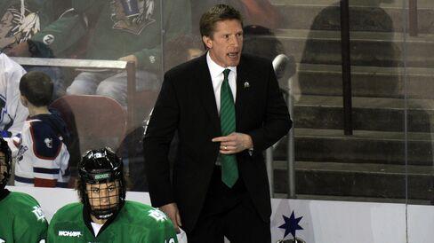 Hockey Coach Dave Hakstol