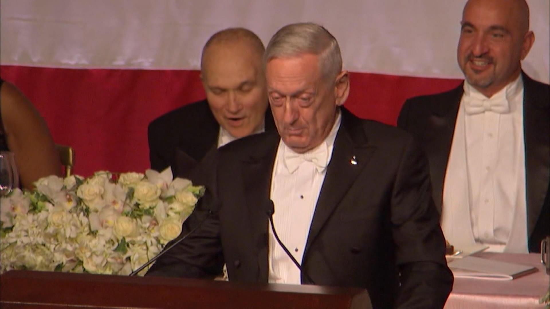 "Mattis: ""the Meryl Streep of Generals"""
