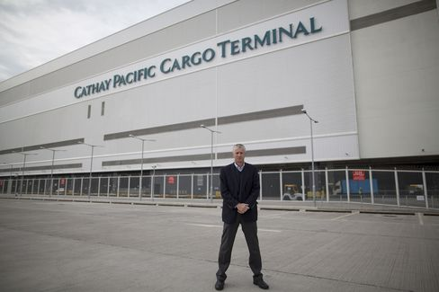 Cathay Pacific Cargo Director Nick Rhodes