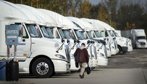 Christmas in August as Trucking Shares Offer Bet on U.S. Holiday