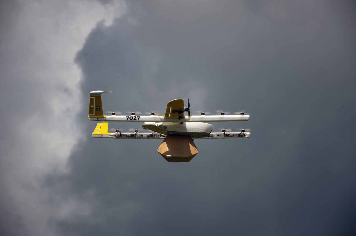 Alphabet Unveils App to Provide Air-Traffic Control for Drones