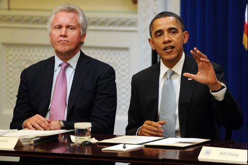 Obama Tells Panel Recovery Is Challenged by Jobless Rate