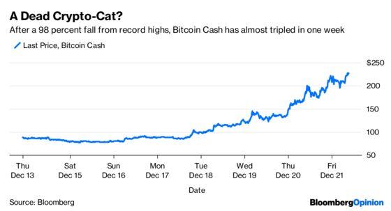 Bitcoin Cash's 180% Bounce Looks Like a Dead Cat