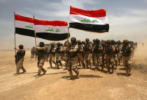 IRAQ-MILITARY-TRAINING