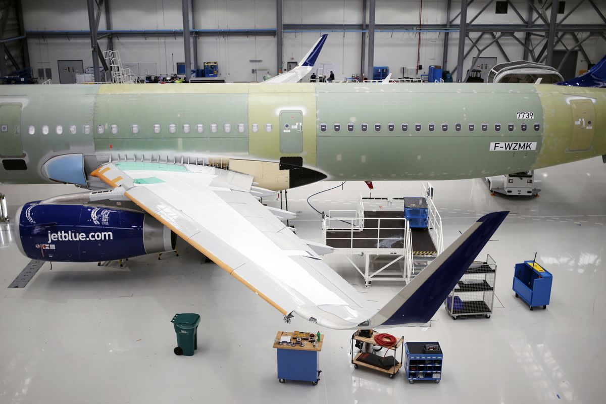 Airlines Scramble for Airbus Jets Made in America