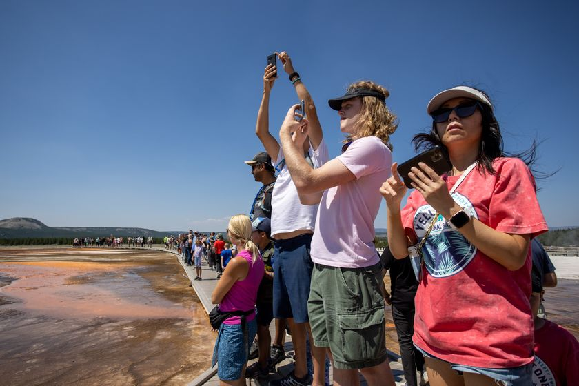 Yellowstone Sees Record Numbers Of Visitors