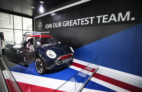 BMW Seeks to Defend Mini's Profit Gold With Olympic Cameo