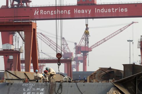 China Shipyards Set to Spark Price War Among Rigmakers