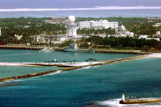 China Has An 800,000-Square-Mile 'City' in the South China Sea