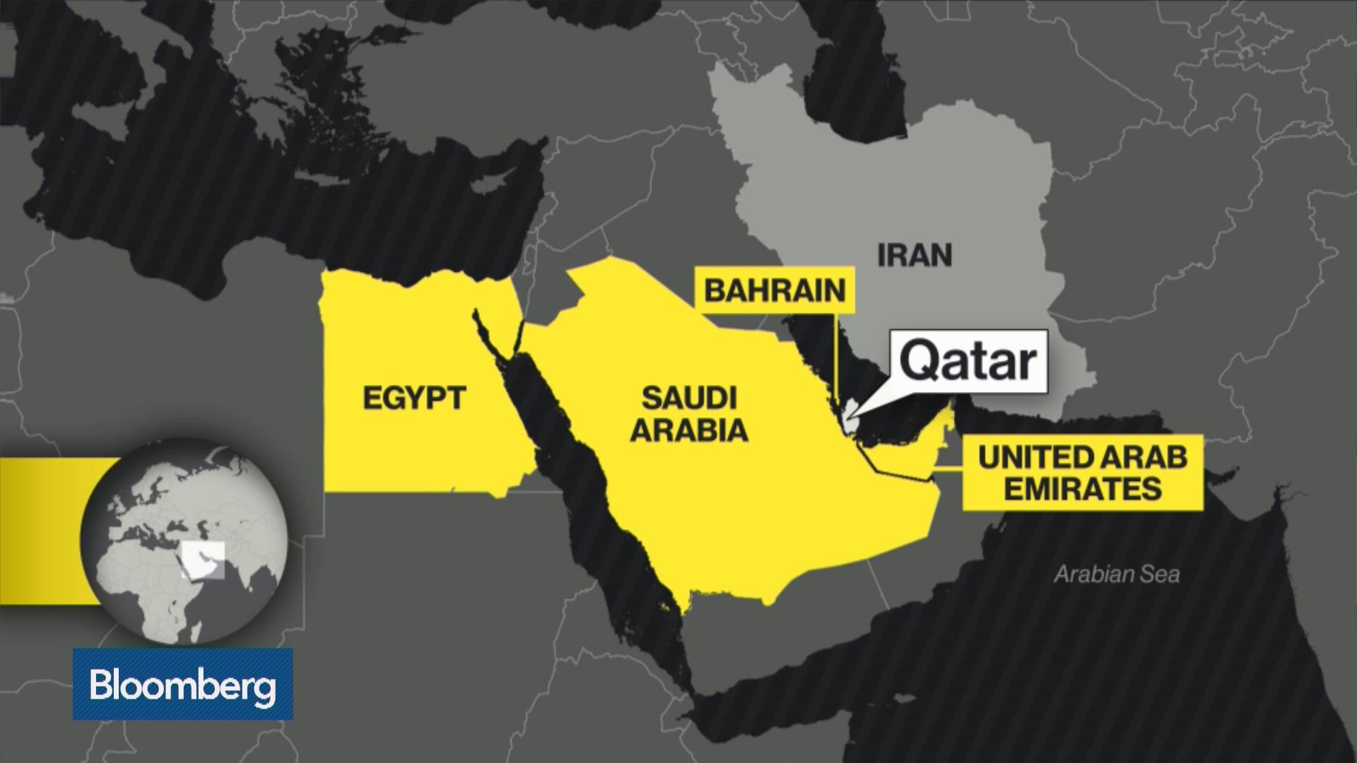 UAE Closes Airspace To Qatar Flights As Gulf Spat Deepens