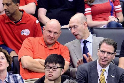 Ballmer Shatters NBA Price Record With $2 Billion Clippers Bid