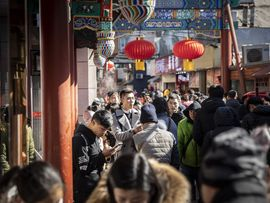 1b462b285213 Retail in Beijing As China China Is Set to Cut Rates on Slowing Inflation