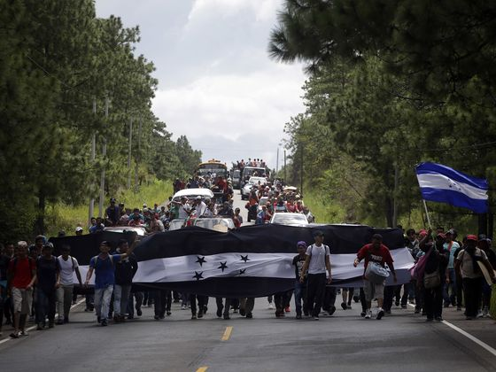 Trump Tells Central American Countries to Turn Back Migrants