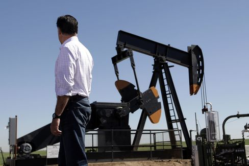Romney Says Obama Taking Unfair Credit for Oil-Production Gains