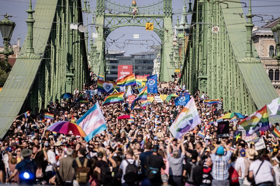 Crowds Flock to Pride March as Hungary Faces LGBTQ Reckoning