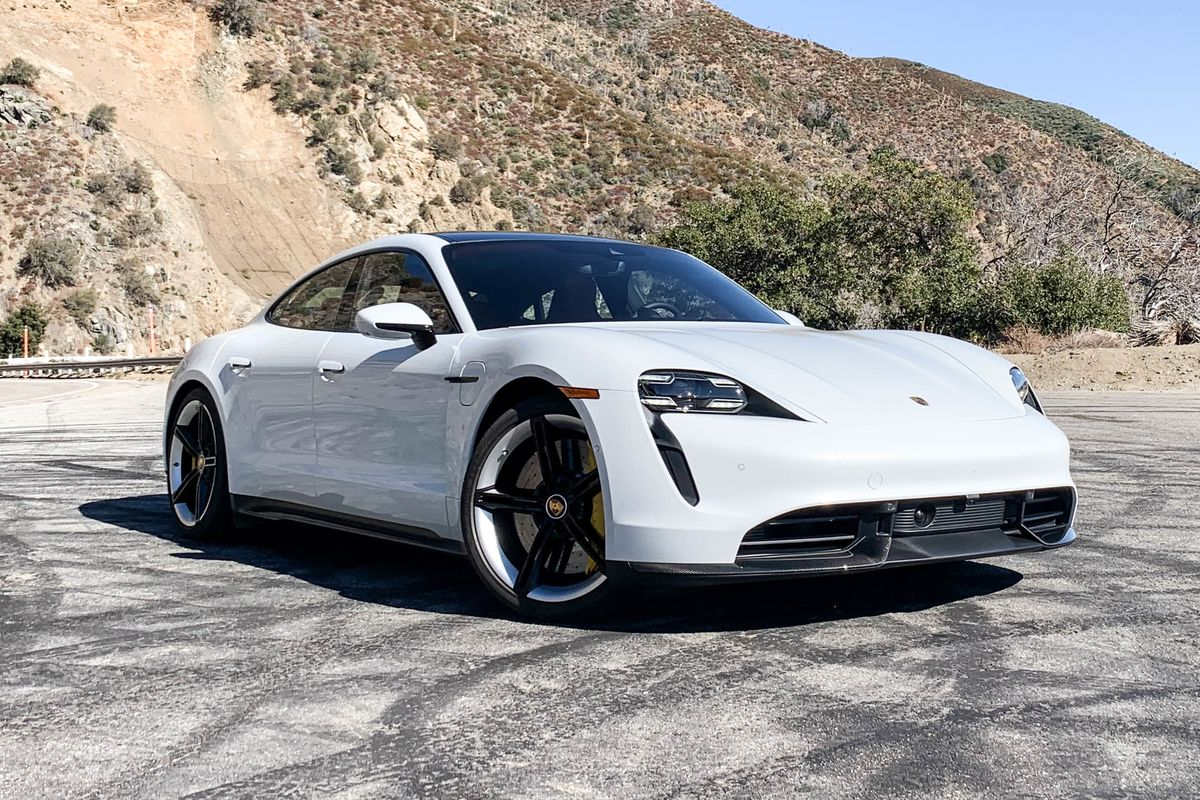 Driving the $185,000 Porsche Taycan: It's a Stealth Revolution
