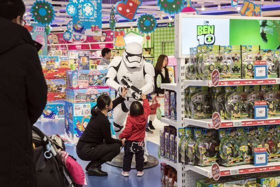Under Siege in the U.S., Toy Stores Find New Life in China
