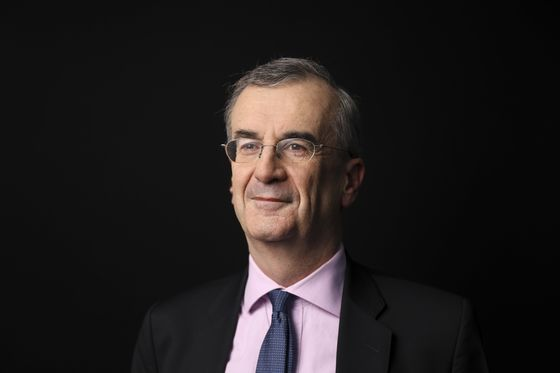 ECB Contender Villeroy Scores Win With Sub-Zero Rate Lament