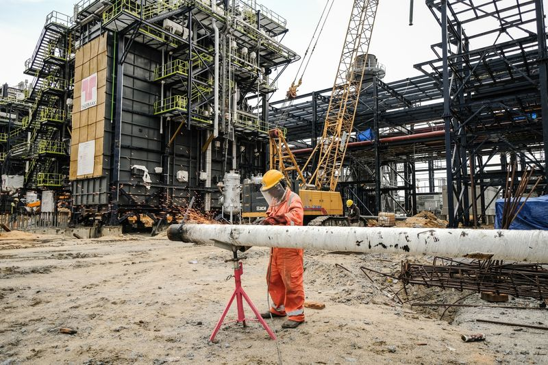 ON HOLD DANGOTE REFINERY VISIT