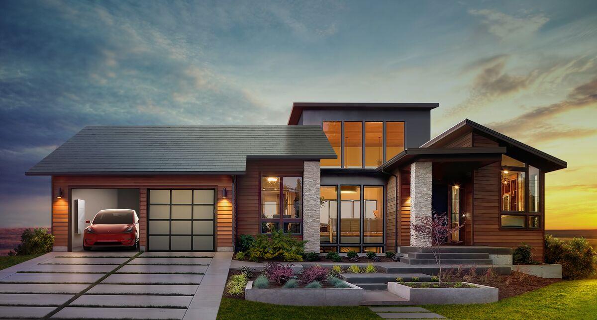 Tesla's New York Gigafactory Kicks Off Solar Roof Production