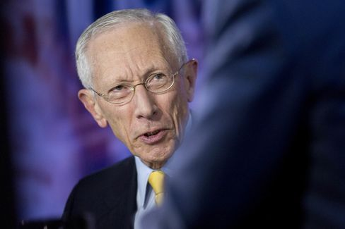 Interviews With Fed Vice Chair Stanley Fischer And Former Fed Chair Alan Greenspan