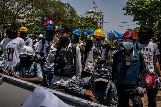 Myanmar Citizens Use Protester Toolkit to Skirt Internet Ban
