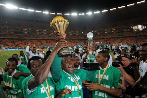 Nigeria Beats Burkina Faso to Win Soccer's Africa Cup of Nations