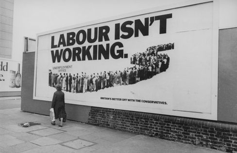 Tory billboard for 1979 election