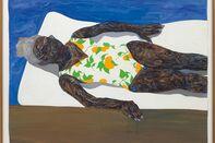 Amoako Boafo, The Lemon Bathing Suit, 2019