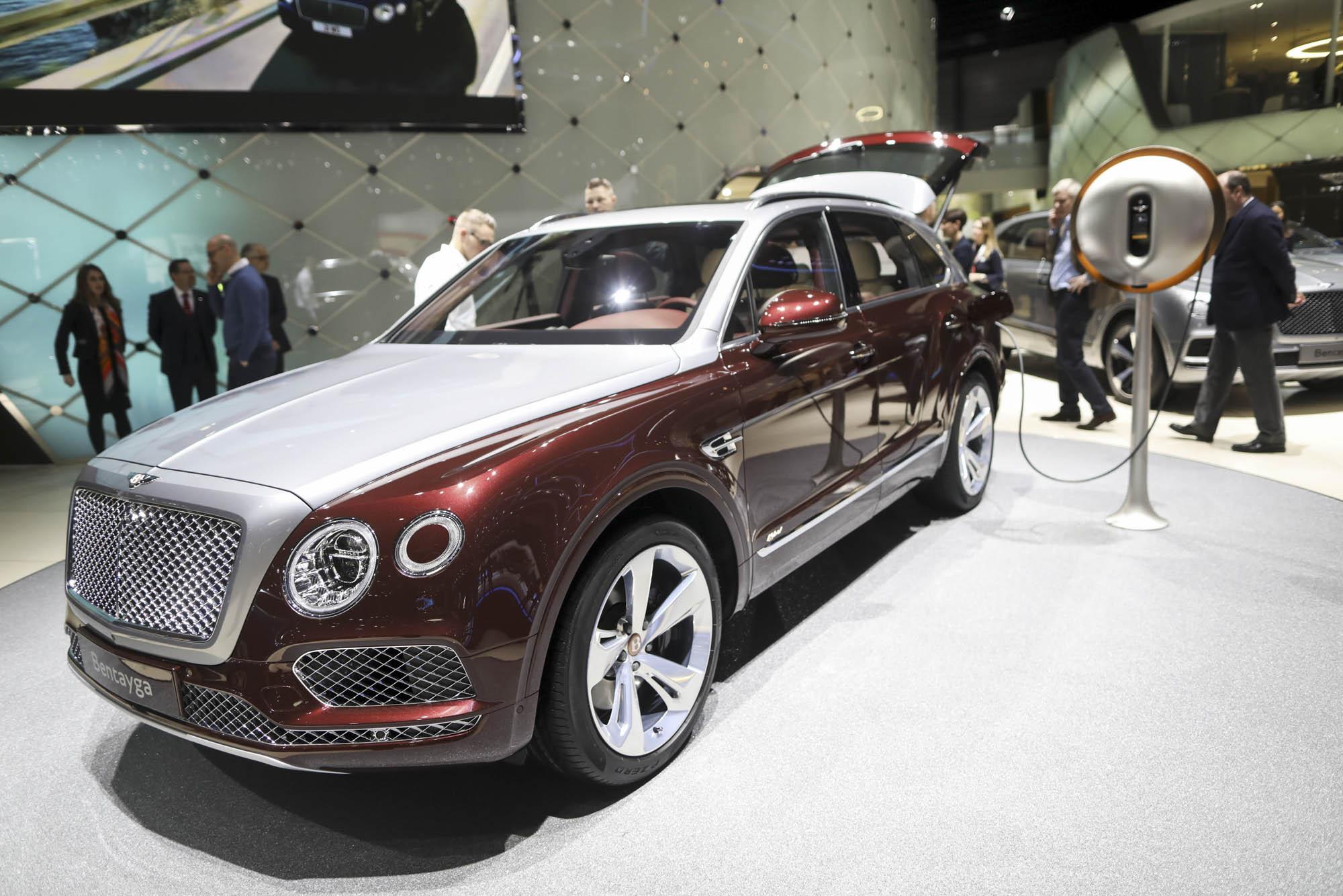 Bentley Bentayga Hybrid. Фото: Bloomberg