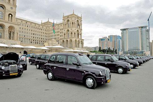London Taxis' Next Stop: Azerbaijan