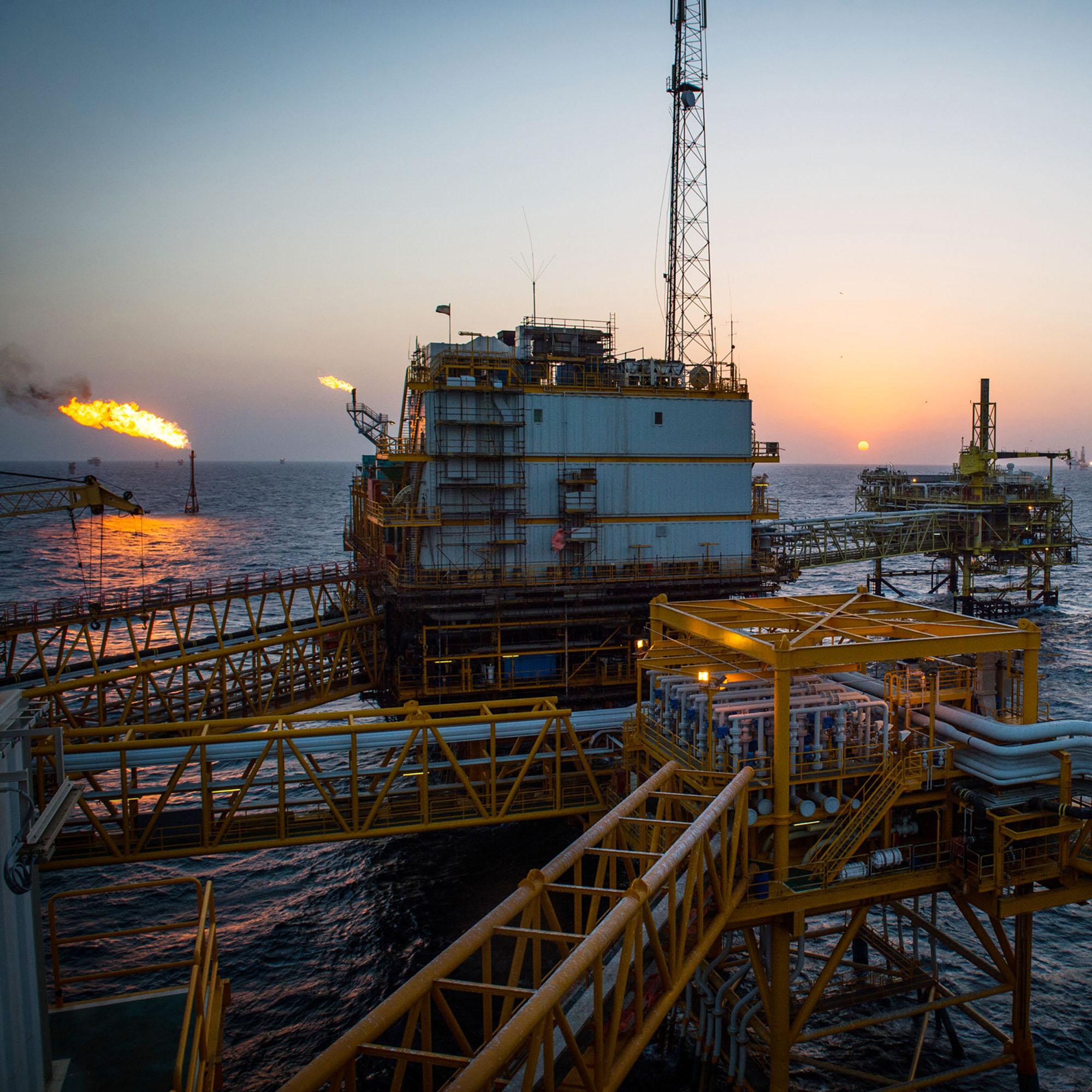 Iran's Salman Oil Field Ahead Of U.S. Sanctions