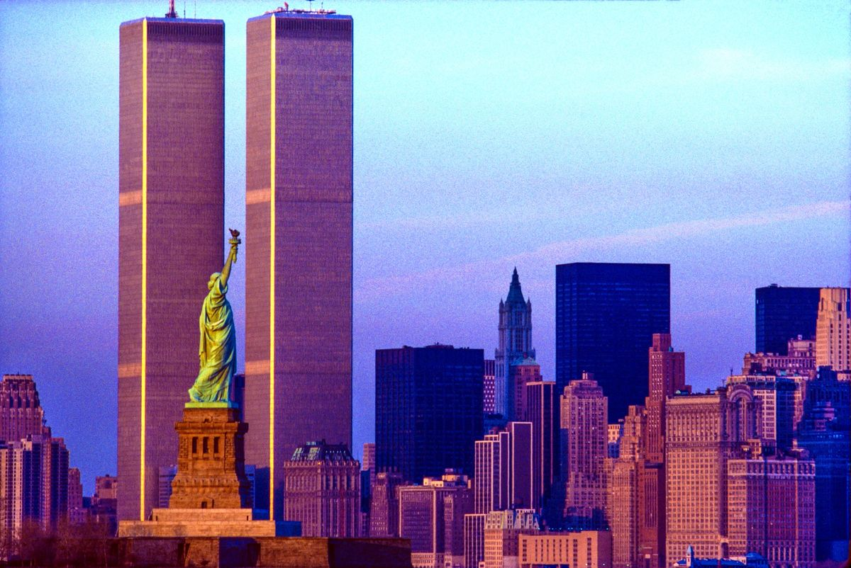 The History of the Twin Towers Design and Architecture - Bloomberg