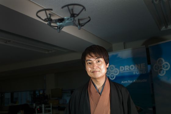 Tech Guru Bets Drones Will be `Gold Rush in the Air' For Japan
