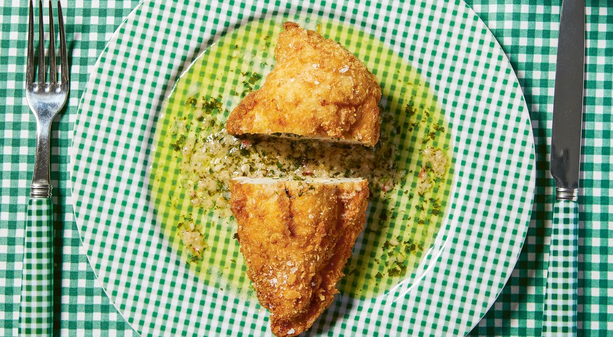Chicken Kiev Gets a Spicy Thai Makeover in Home Recipe
