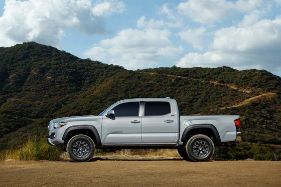 Toyota's Tacoma Pickup Takes On All Comers and Remains on Top