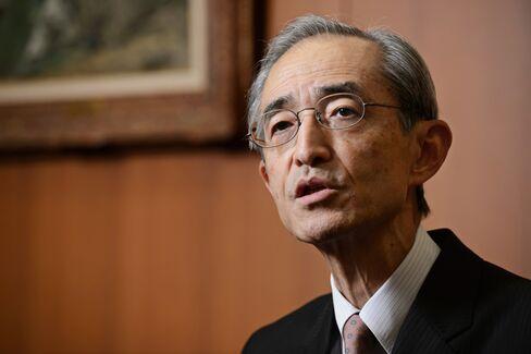 Nobuyuki Hirano, president of Mitsubishi UFJ Financial Group Inc.