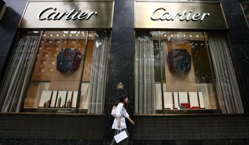 Richemont Gains on Jewelry Maker's Profit Forecast