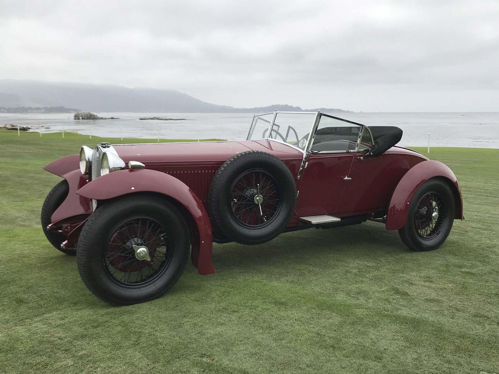 <p> <span> & nbsp; </ span> </ p> <p> <strong> <span> 1928 Alfa Romeo SS 1500 Atcherley: </ span> </ strong> </ p>