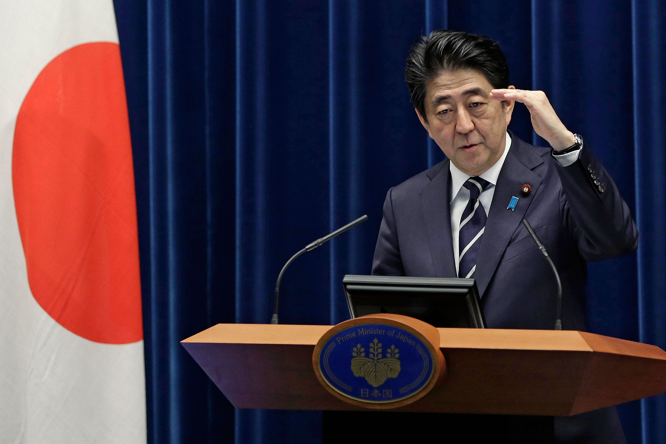 Abe Keeps Aces in Japan Cabinet While Playing a Couple of Jokers - Bloomberg