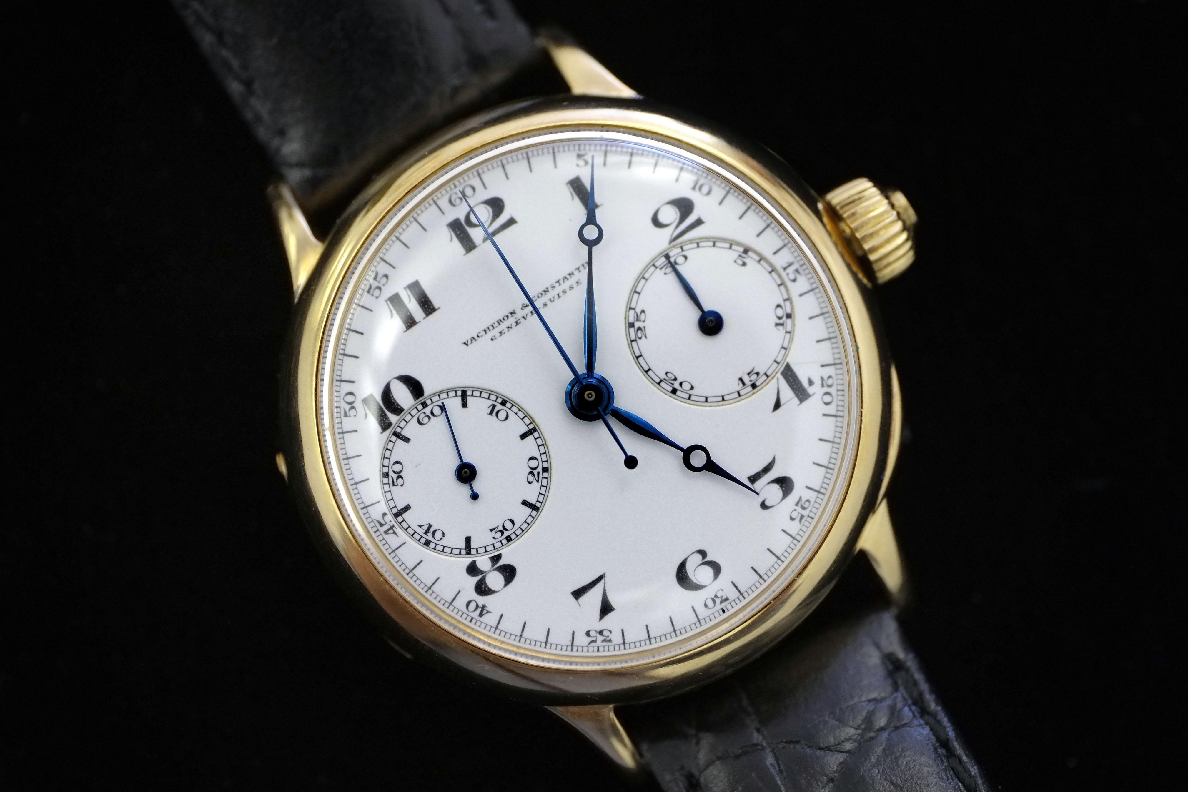 Vacheron Constantin King Alexander Chronograph (lot 81)