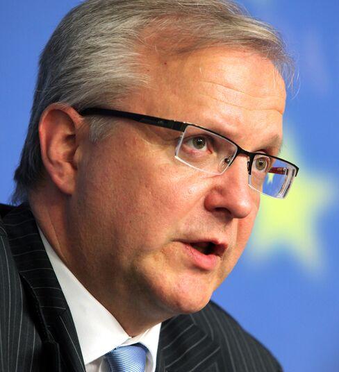 EU Economic and Monetary Affairs Commissioner Olli Rehn