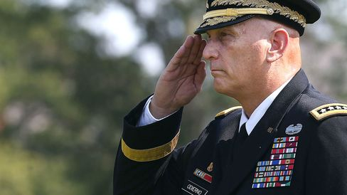 Army Holds Change Of Responsibility Ceremony Transitioning Gen. Mark Milley Into Army Chief Of Staff