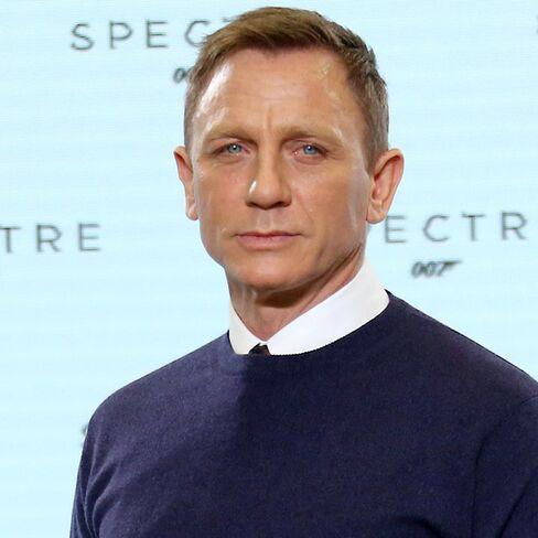 James Bond star Daniel Craig.