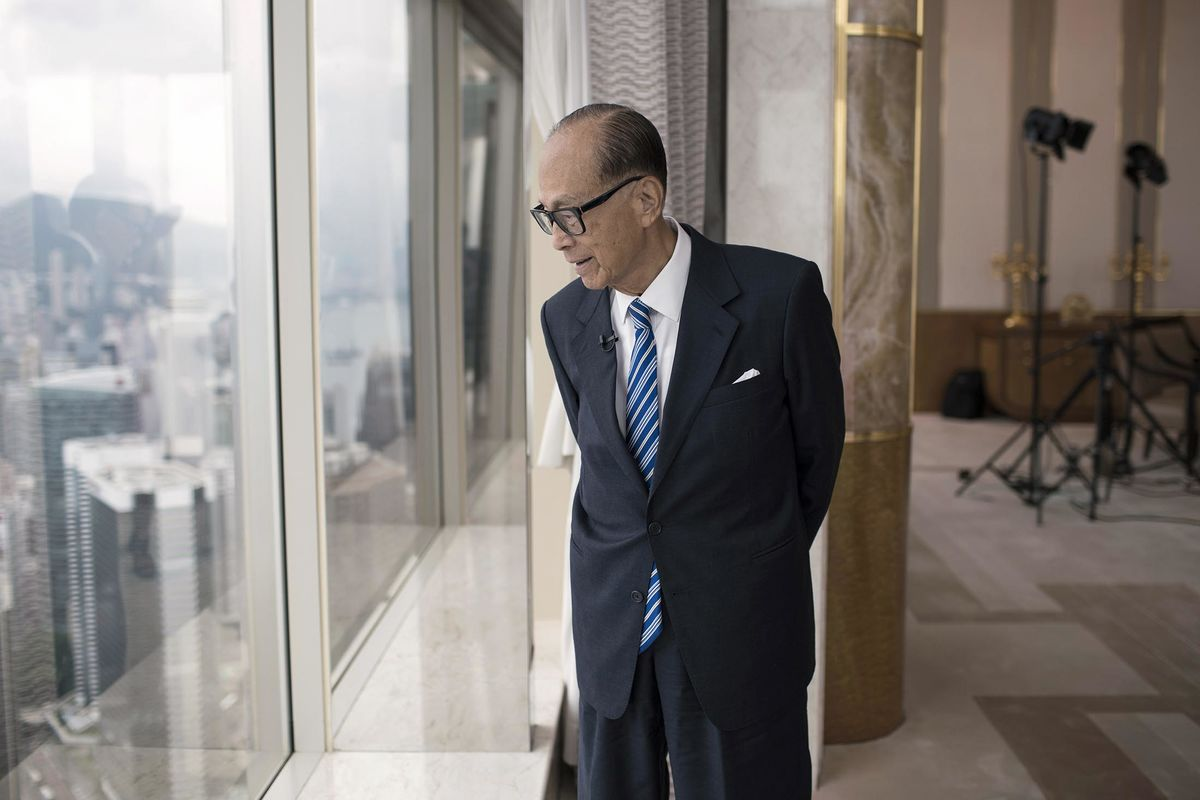 Image result for Hong Kong's Richest Man Isn't Worried About the Survival of His $80 Billion Empire